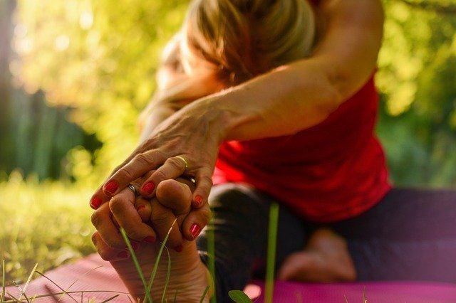 yoga in the farm Umbria