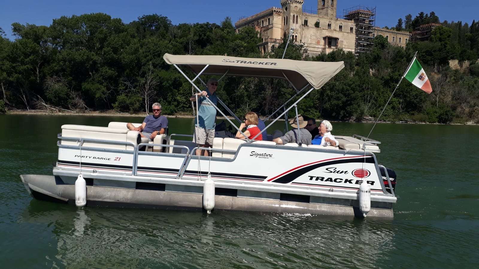 Boat tour Trasimeno lake